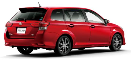 カローラーフィールダー リア 低価格で買えるMT車紹介
