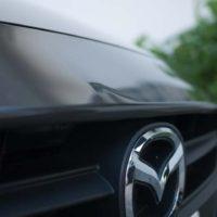 DJデミオ 新型デミオ フロントバンパー凹みを安く修理