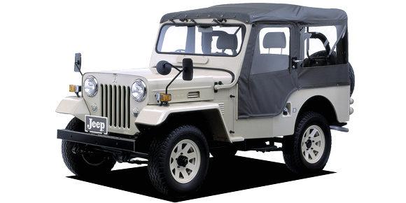 jeep_front 三菱ジープ マニュアル車