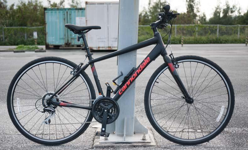 キャノンデールのクロスバイクQUICK8を購入