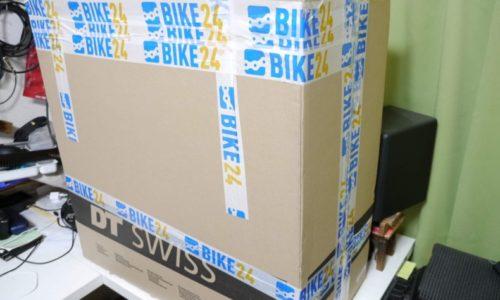 Bike24でホイールを購入