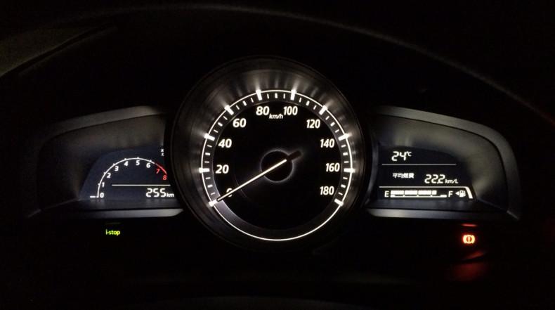 新型デミオ 13S MT 燃費