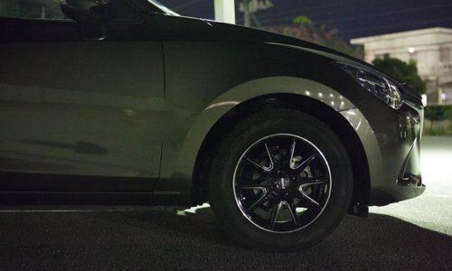 新型デミオ ホイールカスタム クロススピード プレミアム RS-10